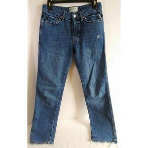 We the Free Boyfriend Frayed Jeans